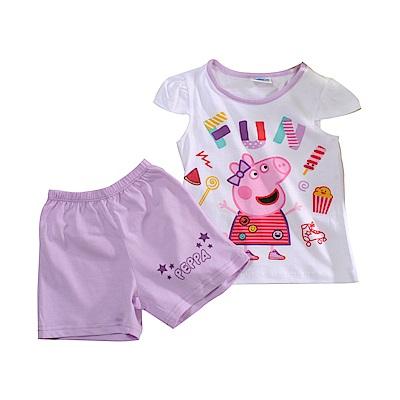 粉紅豬佩佩純棉短袖套裝 k51147 魔法Baby