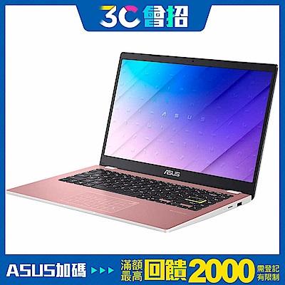 ASUS E410MA 14吋筆電 (N4020/4G/64G EMMC/LapTop/玫瑰金)