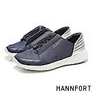 HANNFORT ICE太空漫步防潑水抽繩運動鞋-女-太空藍