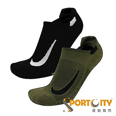 NIKE  踝襪 短襪 二入組 黑/綠 SX7554934