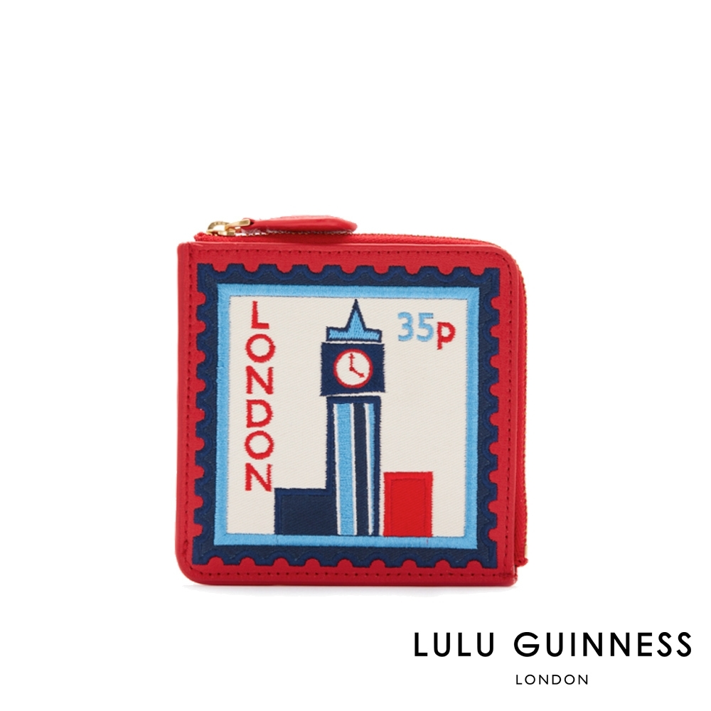 LULU GUINNESS LONDON TRAVEL 零錢包