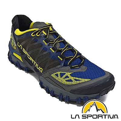 【ATUNAS 歐都納】LA SPORTIVA男越野跑鞋LA-26KBL藍15