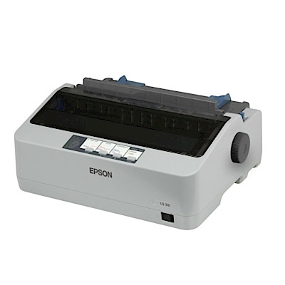 EPSON LQ- 310  點陣印表機+優惠套組 S 15641 色帶 5 入組合包
