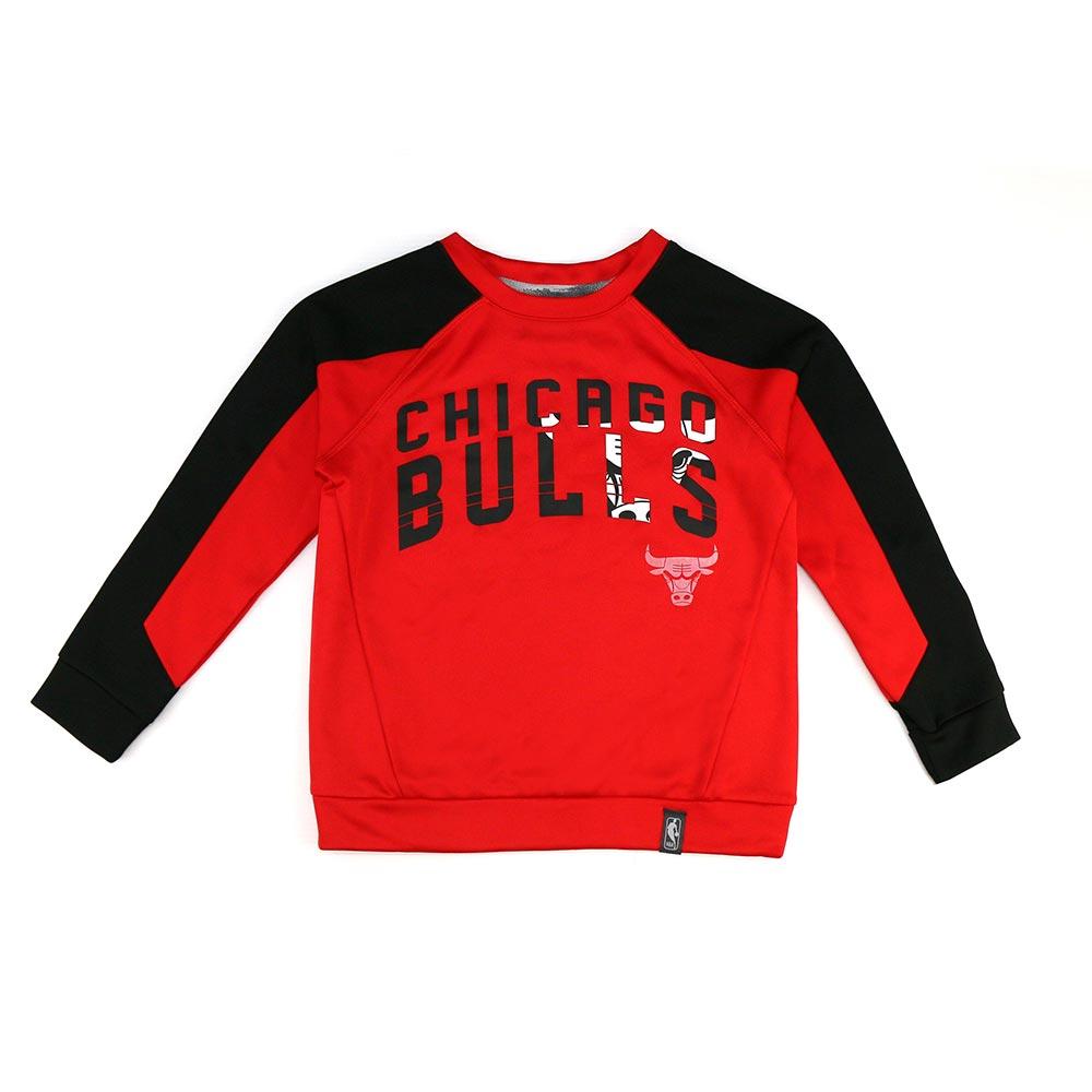NBA 兒童 長袖球隊T恤 公牛隊 9K2B3BBAO-BUL
