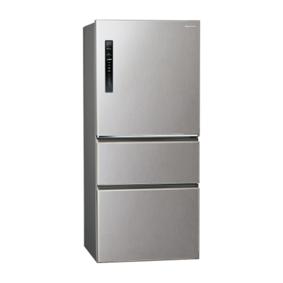 Panasonic國際牌610L三門變頻冰箱 NR-C610HV-L 絲紋灰