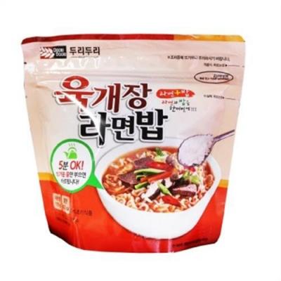 DOORI DOORI泡飯+泡麵 - 韓國大醬湯口味 ( 105g/包 ) x5包