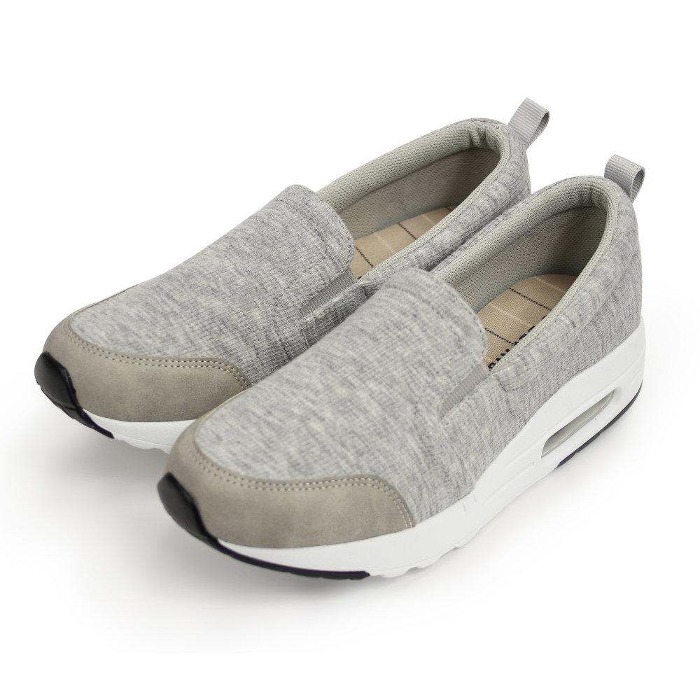 BuyGlasses AIR氣墊休閒懶人鞋-灰