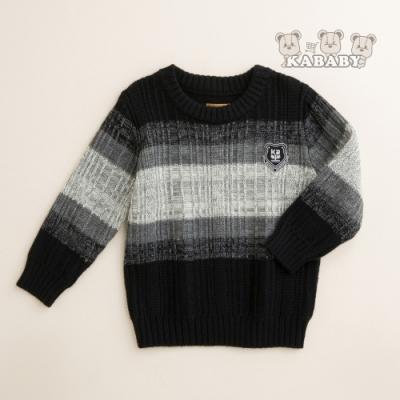 【金安德森】KA漸層配色圓領針織毛衣 (共三色)