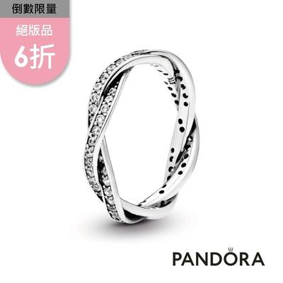 【Pandora官方直營】纏繞寶石戒指