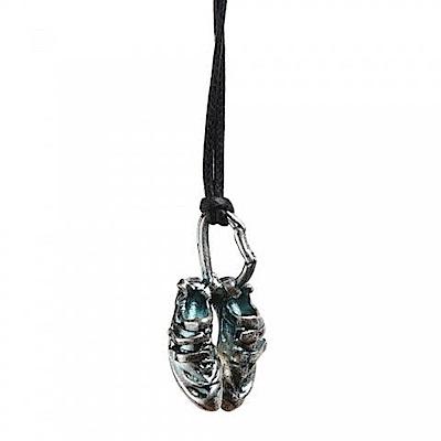 SAC #020 青銅項鍊吊飾 岩鞋