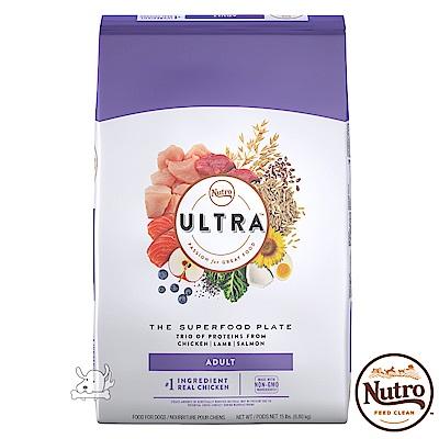 【Nutro 美士】Ultra 大地極品 成犬樂活 配方 犬糧 15磅 X 1包