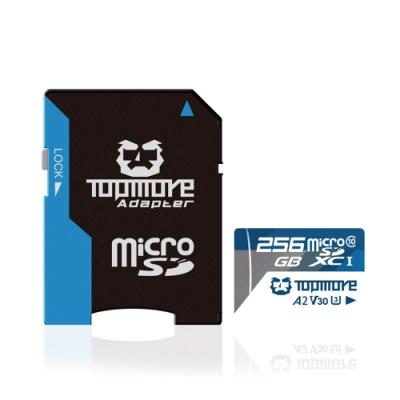 達墨 TOPMORE 256GB MicroSDXC UHS-I U3 A2 V30 Class10 記憶卡