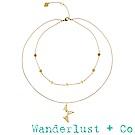 Wanderlust + Co新星項鍊 - 金色