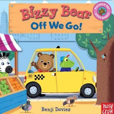 Bizzy Bear:Off We Go 熊熊的假期新奇操作書(美國版)