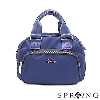 SPRING-守護者輕量多用側背包-寶石藍