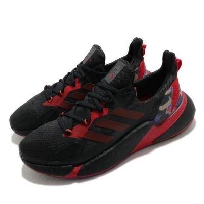 adidas 慢跑鞋 X9000L4 襪套式 男鞋 愛迪達 運動休閒 Boost底 緩震 黑 紅 GZ8987