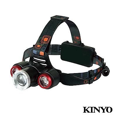 KINYO高亮度LED三頭變焦投燈LED715
