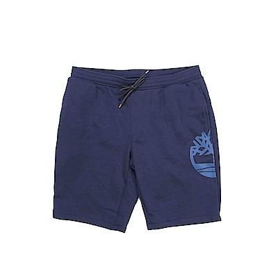 Timberland 男款藍色休閒短褲