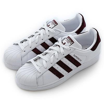 Adidas 愛迪達SUPERSTAR-經典復古鞋-女