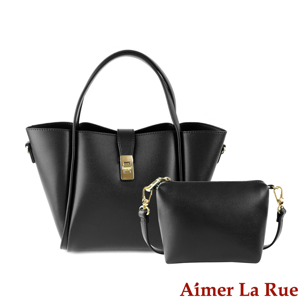 Aimer La Rue 克洛雅手提側背托特子母包(二色)