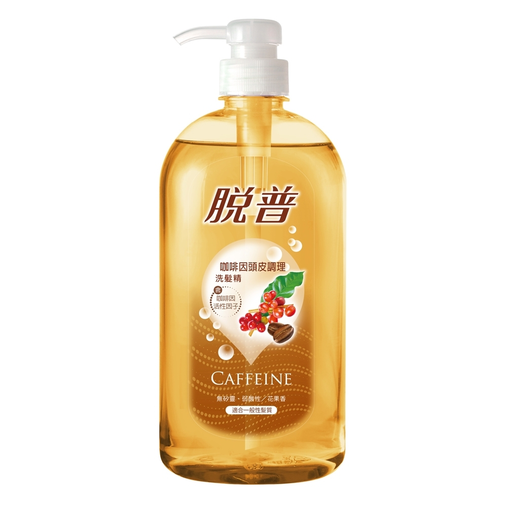 脫普 咖啡因頭皮調理洗髮精-800ml