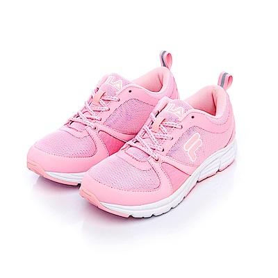 FILA 女款健走鞋-粉紅 5-F702S-551