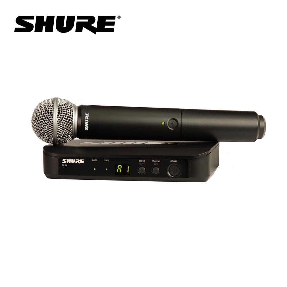 Shure BLX24/SM58 無線麥克風組 系統搭配 SM58 麥克風
