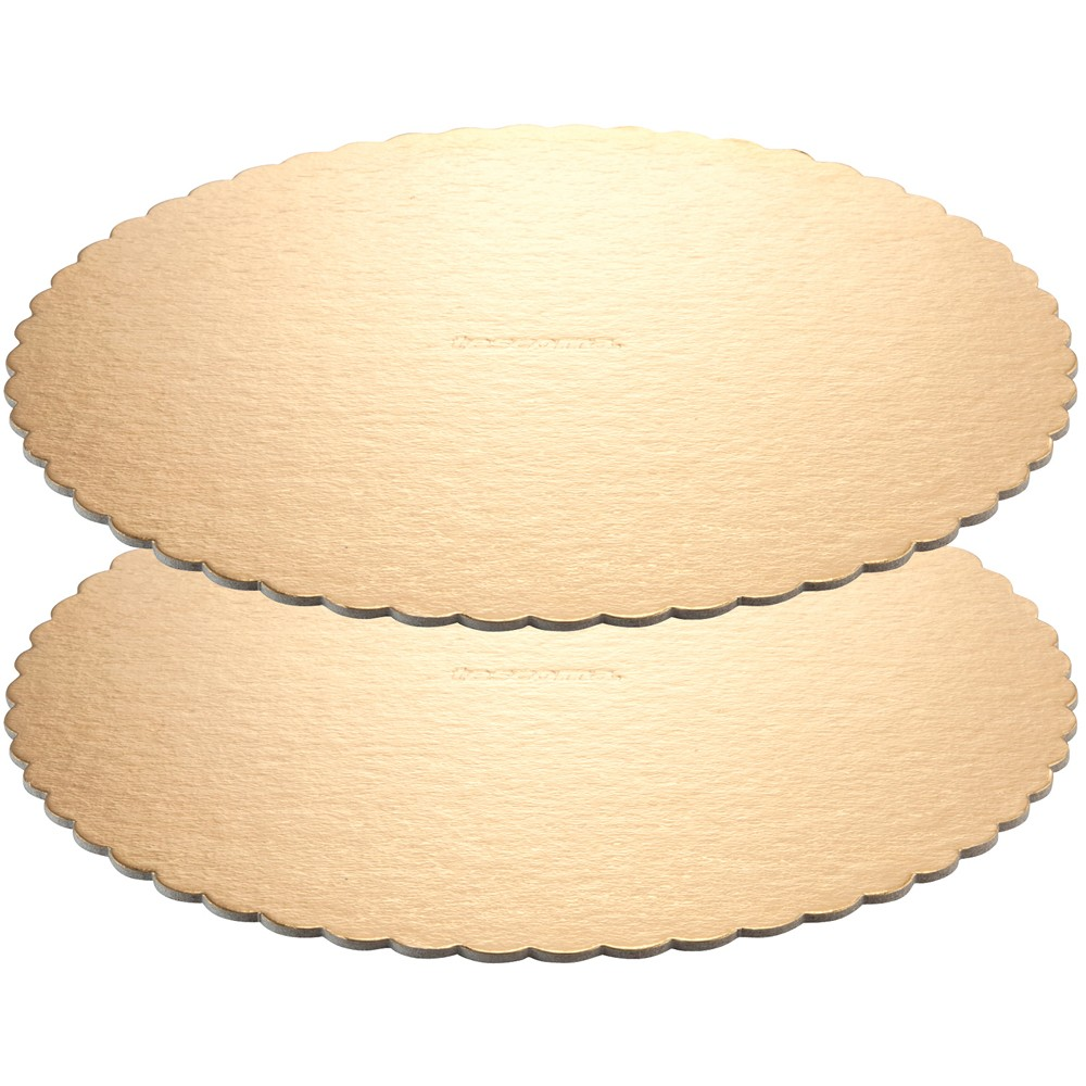 《TESCOMA》蛋糕底盤2入(金30cm)
