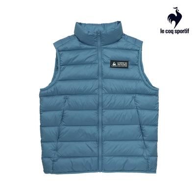 法國公雞牌羽絨背心 LWM6390334-男-灰藍