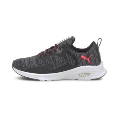 PUMA-Hybrid Fuego Knit Wn s慢跑運動鞋-黑色
