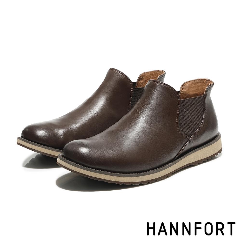 零碼出清 HANNFORT CANYON 靴 男鞋 咖