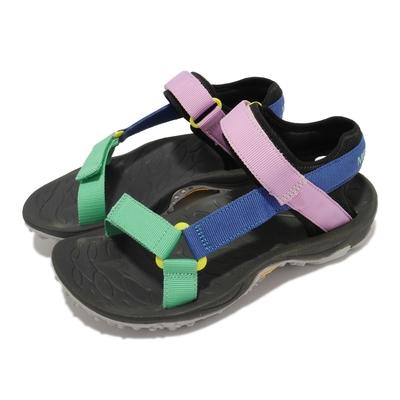 Merrell 涼鞋 Kahuna Web 女鞋 織帶 避震墊片 穩定 舒適 彩 黑 ML002556