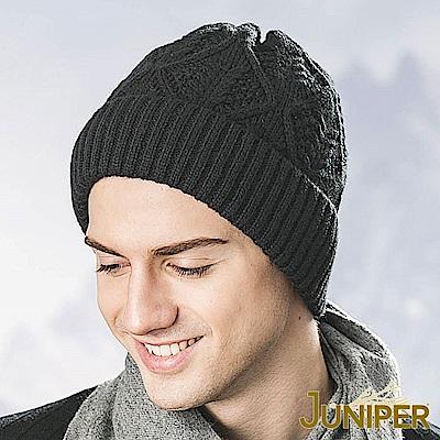 JUNIPER 保暖加厚羊毛防風刷毛絨滑雪冬帽