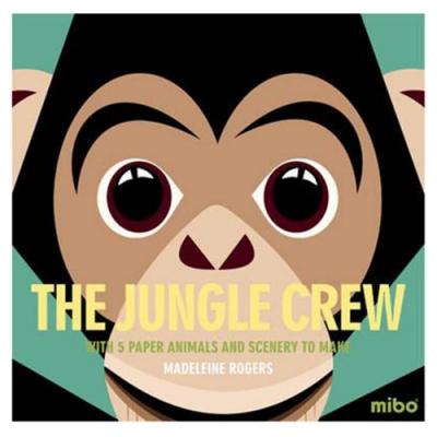 Mibo The Jungle Crew 趣味勞作童書-熱帶叢林
