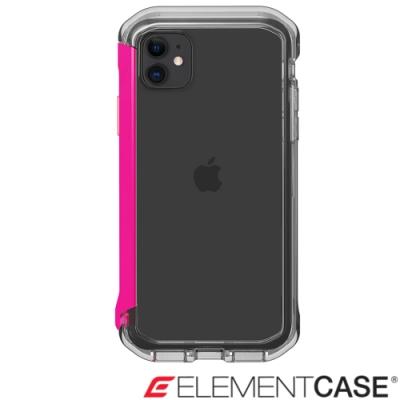 美國 Element Case iPhone 11 Rail 神盾軍規殼 - 晶透粉