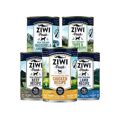 ZiwiPeak巔峰 91%鮮肉狗罐*五口味混搭 390G(一箱12罐)