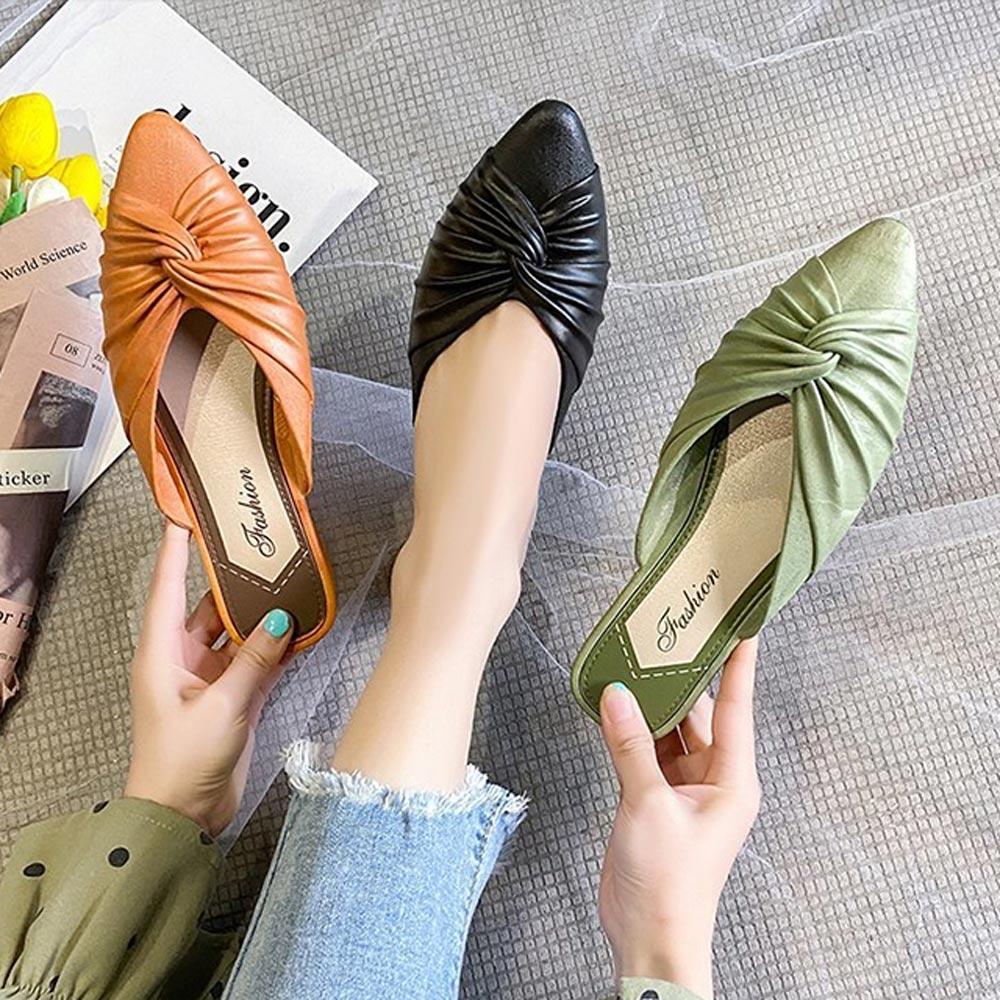 KEITH-WILL時尚鞋館-獨賣夏日漫遊穆勒懶人鞋(涼鞋/涼跟鞋/懶人鞋/穆勒鞋)(共3色)