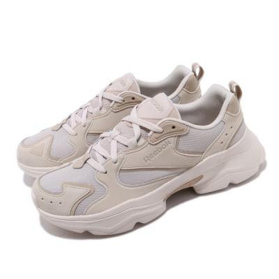 Reebok 休閒鞋 Royal Aadorun 運動 男女鞋 經典款 老爹鞋 厚底 舒適 情侶穿搭 米白 灰 FW6351