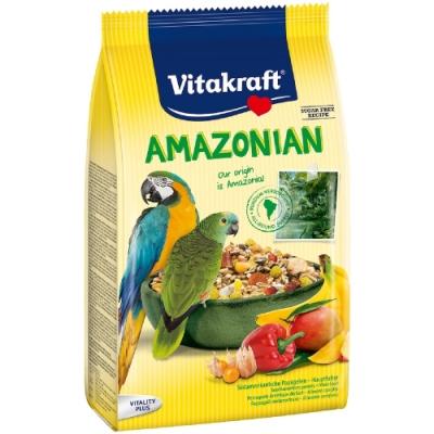 德國Vitakraft Vita-中大型鸚鵡-南美洲鸚鵡總匯美食系列 (21643)750g 兩包組 (效期:2021/02)