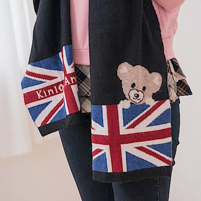 Kinloch Anderson 金安德森女裝 國旗小熊圍巾