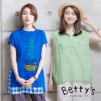 時時樂限定  betty's貝蒂思 回饋價日系襯衫/針織線衫