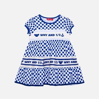 WHY AND 1/2 mini 點點棉質萊卡洋裝 多色可選 1Y ~ 4Y