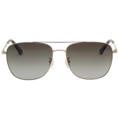 POLICE- 偏光片  太陽眼鏡 (金色)PE867I