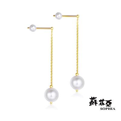 蘇菲亞SOPHIA - G LOVER系列珍心珍意黃金耳環