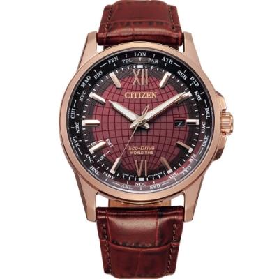 CITIZEN Eco-Drive 環遊世界萬年曆錶(BX1009-10X)41mm