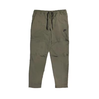 Nike 長褲 NSW Pants 運動休閒 男款 直筒褲 抽繩 多口袋 工裝 穿搭 綠 黑 CU4484380