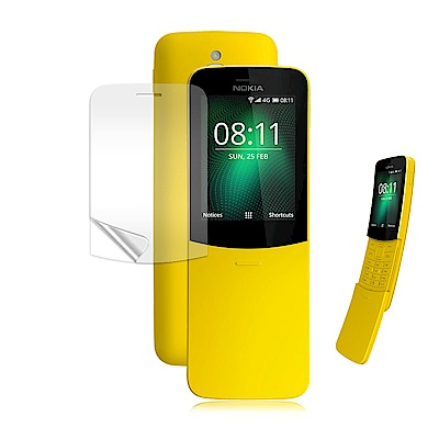VXTRA Nokia 8110 香蕉機 高透光亮面耐磨保護貼
