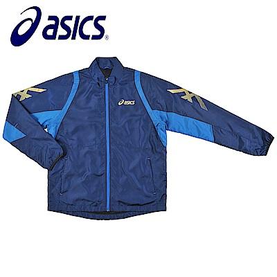 Asics 亞瑟士 男女風衣外套 藏青藍 K31402-50