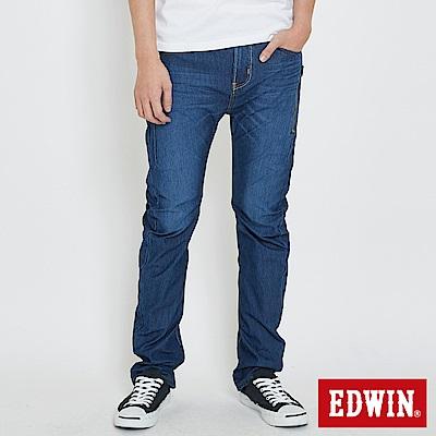 EDWIN JERSEYS 迦績EF直筒牛仔褲-男-石洗綠