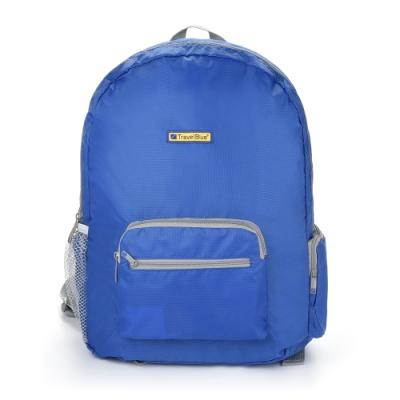 【 Travel Blue 藍旅 】 Foldable 輕便型摺疊背包 (20L) 藍色 TB065-BL